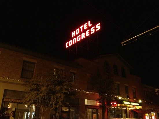 The Historic Hotel Congress: Front