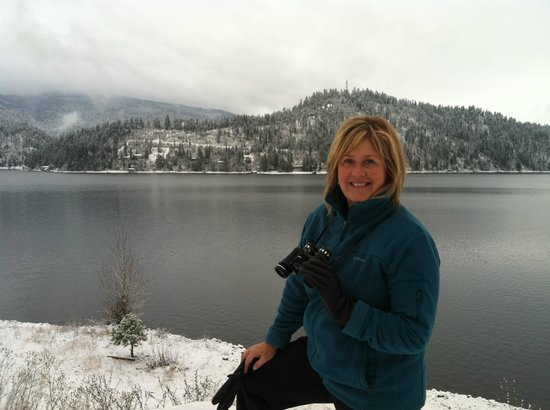 The Coeur d'Alene Resort:                   Winter Lakeside Happiness
