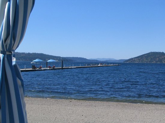 The Coeur d'Alene Resort:                   Summertime