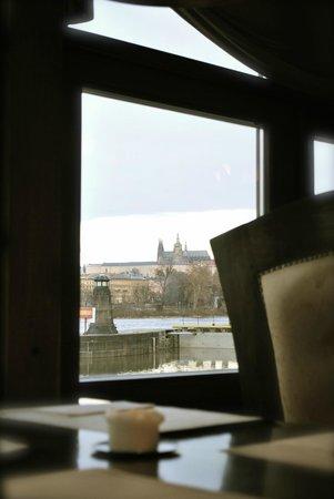 Botel Matylda: Panorama dalla sala colazioni
