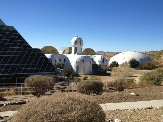 Biosphere 2: Main Building