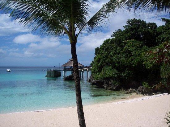 Shangri-La's Boracay Resort & Spa:                   Arrival dock.