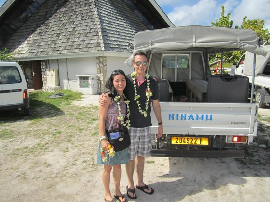 Tikehau Ninamu Resort:                   At the airport