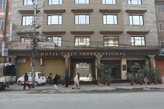 Hotel Tibet International:                   THI front