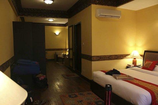 هوتل تبت إنترناشونال:                   Our room                 