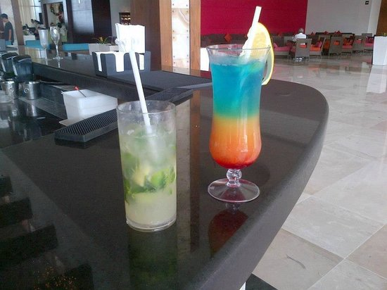 Now Jade Riviera Cancun: Delicious drinks