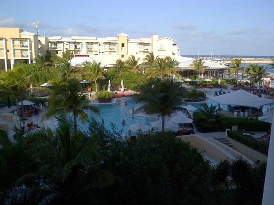 Now Jade Riviera Cancun: View from our room