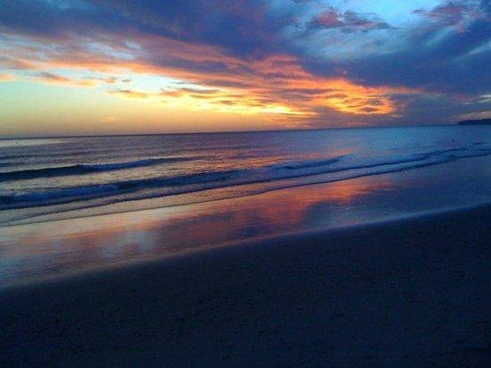 Colores de Zahara: puesta del sol