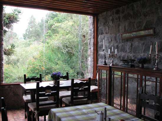 Hacienda Manteles: View from dining area