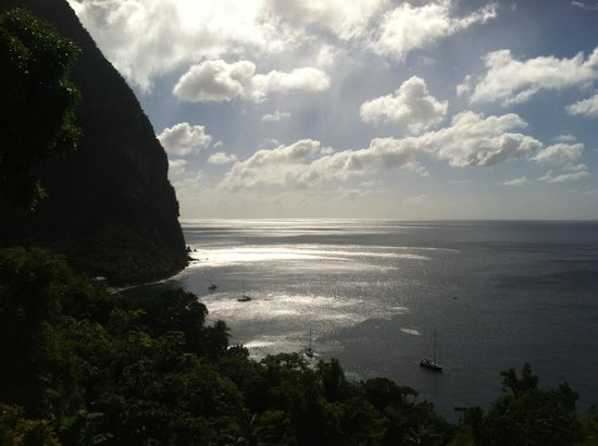 Stonefield Villa Resort: Frangapini at Stonefield- Piton View
