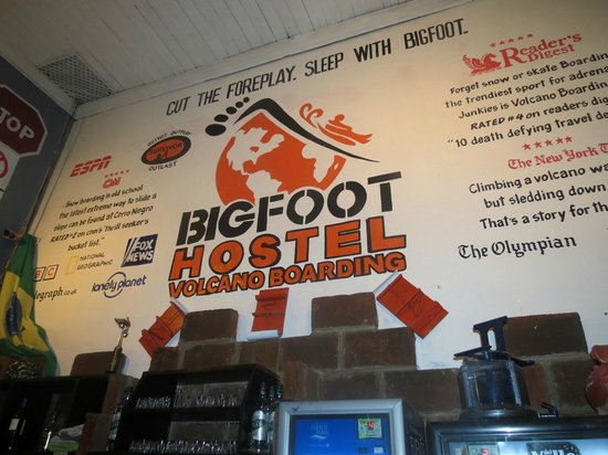 Bigfoot Hostel: Our New logo