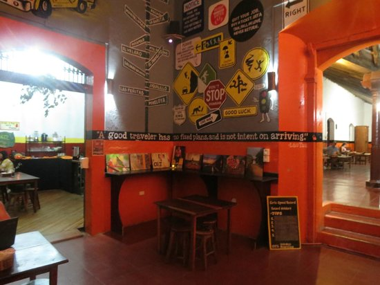 Bigfoot Hostel : Our wall