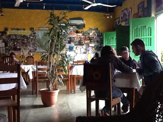 Cafe Arqueologico Yaxha :                   spanish clases at dos mundos spanish school in cafe yaxha