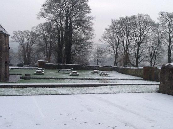 Penllwyn Manor: Let it snow