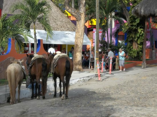 Royal Decameron Complex:                   On the hotel street