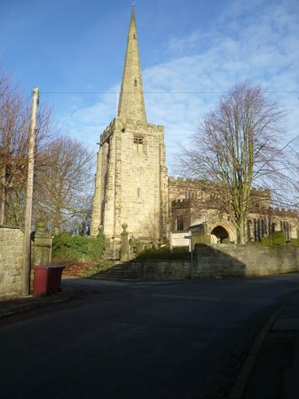 The Old Poets' Corner : Ashover Church