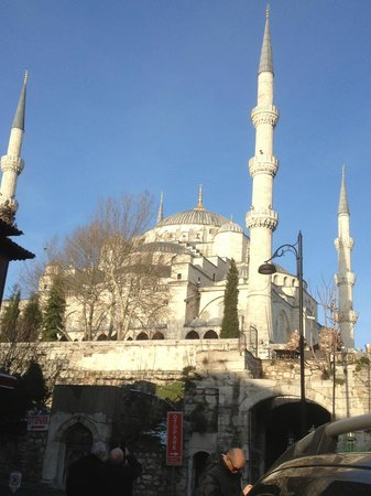Sarnic Hotel:                   Very close to Blue Mosque.