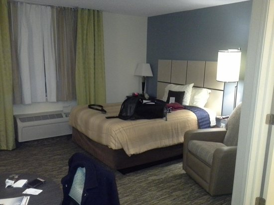 Candlewood Suites Detroit, Southfield: Sleeping Area