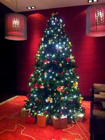 radisson blu royal hotel dublin beautiful christmas decorations