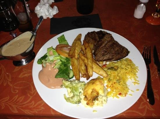 Nestor's:                   fillet steak