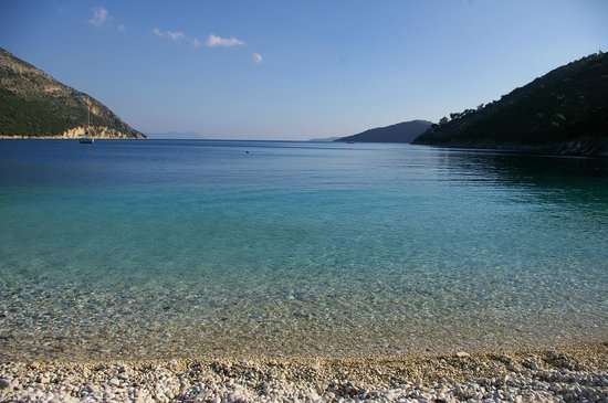 Vassiliki Bay Villas: ROUDA BAY.......BEACH NEAR VILLA