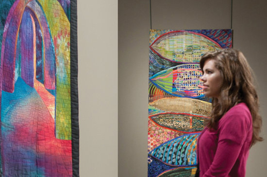 Explore the fine art of quilting at Paducah's internationally celebrated National Quilt Museum.
