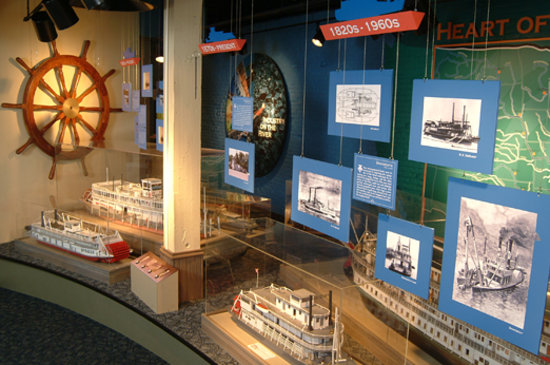 The River Discovery Center, housed in Downtown's oldest standing structure, celebrates Paducah'
