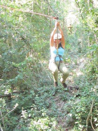 Selva Maya Eco Adventure : ¡9 tirolesas!