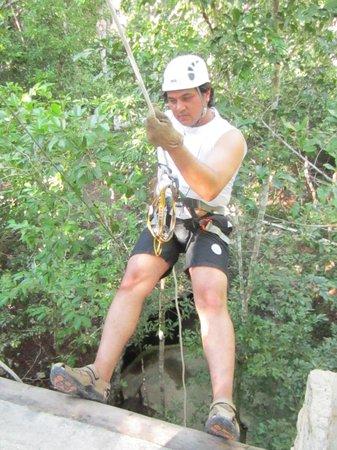 Selva Maya Eco Adventure : Rappel