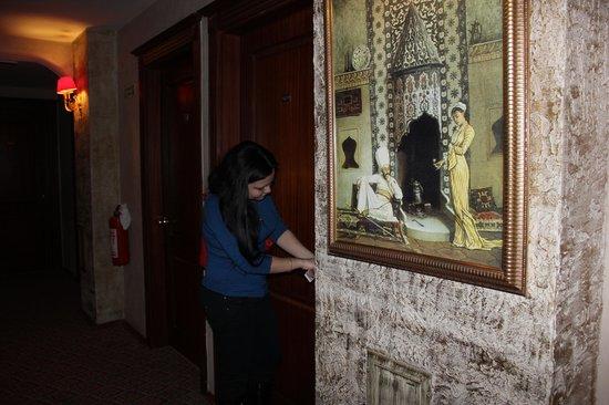 โรงแรมอิเพ็คปาลาส: коридор