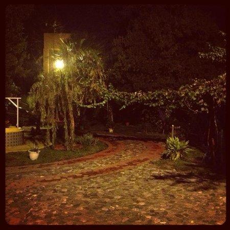 La Malanca Hotel & Spa: Patio fuera del comedor