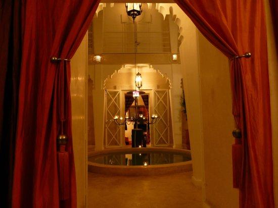 Riad Dar Thalge: vue du salon