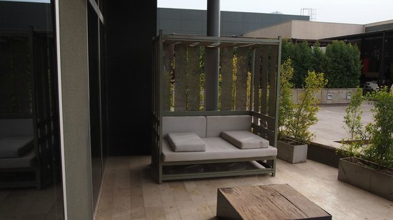 Esplendor Mendoza: Private Deck Area