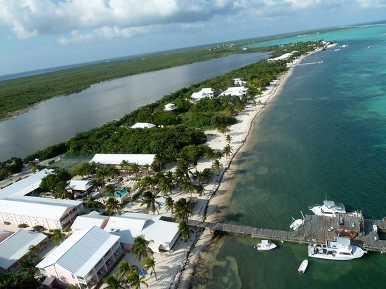 Little Cayman Beach Resort: Little Cayman Aerial View