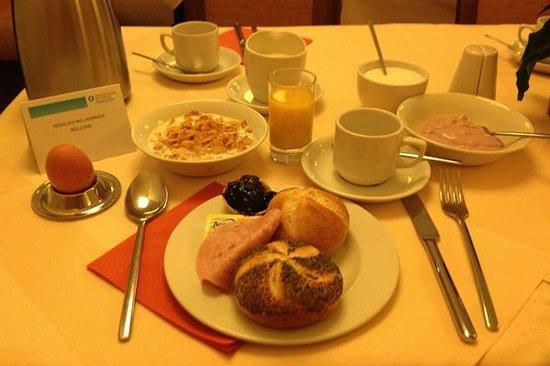 Gastehaus am RPTC: Eine Variante des Frühstücks