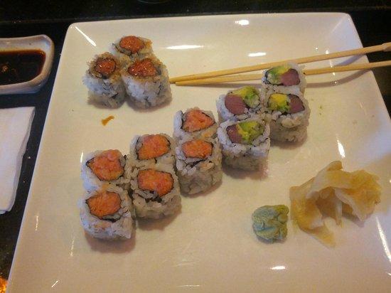 Atami Sushi: Spicy Tuna Rolls & Tuna Avocado Roll