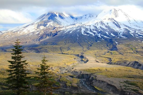 Toutle, Waszyngton: Mount St. Helens from Johnston Ridge Observatory