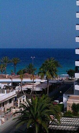 Hotel Girasol : Meerblick von unserem Zimmer aus dem 5. Stock!