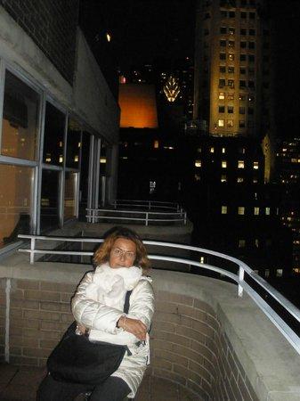 ذا كيمبرلي هوتل آند سويتس: Che bello il balcone al 30° piano!
