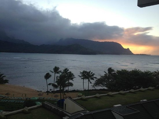 St. Regis Princeville Resort:                   Beautiful sunsets!