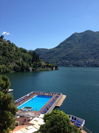 Villa d'Este:                   View of Lake Como from Room