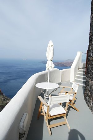 Petit Palace Suites Hotel: view from terasse of honeymoon suite