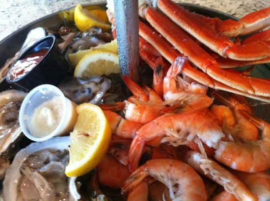 Saltwater Cafe:                   The Seafood Tower
