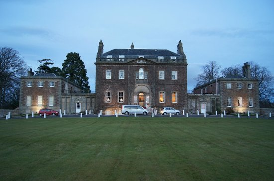 The Culloden House At Dusk