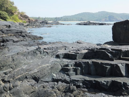 Palolem Beach: polem , a mile or two away