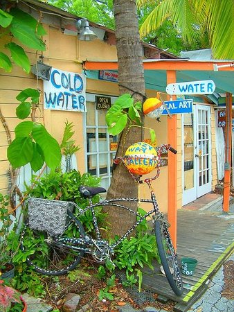 "Key West Express - Marco Island: Bikes are the ""mod""us transportus for Key West"