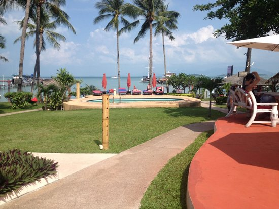 Samui Pier Resort:                                     Fab views