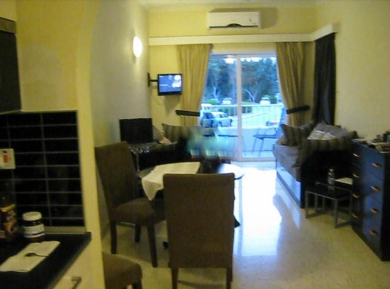 Park Lane Aparthotel: Wohn-Esszimmer