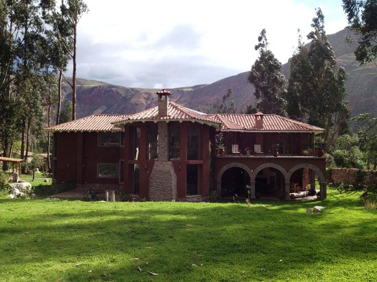 Cusco Cottages:                                     The beautiful home of the owners.
