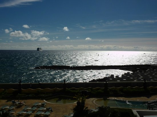 Porto Santa Maria Hotel (Porto Bay):                   Sea view (including new beach area)
